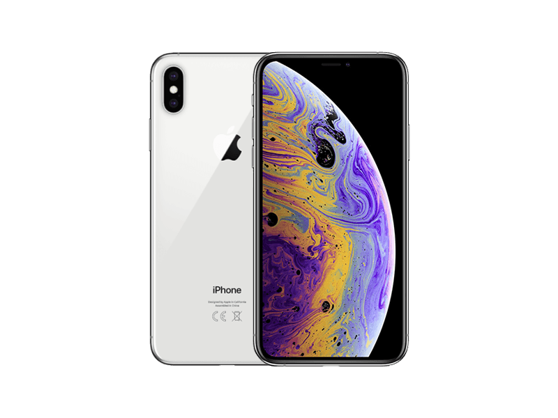 Apple iPhone XS Max 64 GB Silber
