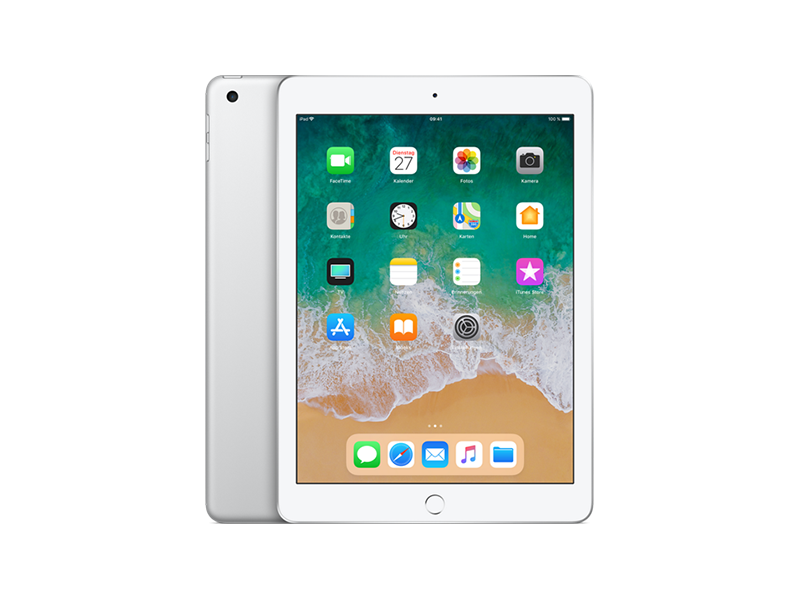 Apple iPad 9.7 Wi-Fi 2017 Silver 128 GB