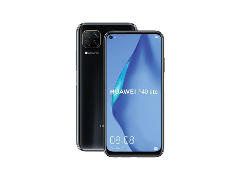 Huawei P40 Lite Dual Sim Midnight Black 128 GB