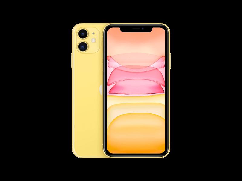 Apple iPhone 11 128 GB Gelb
