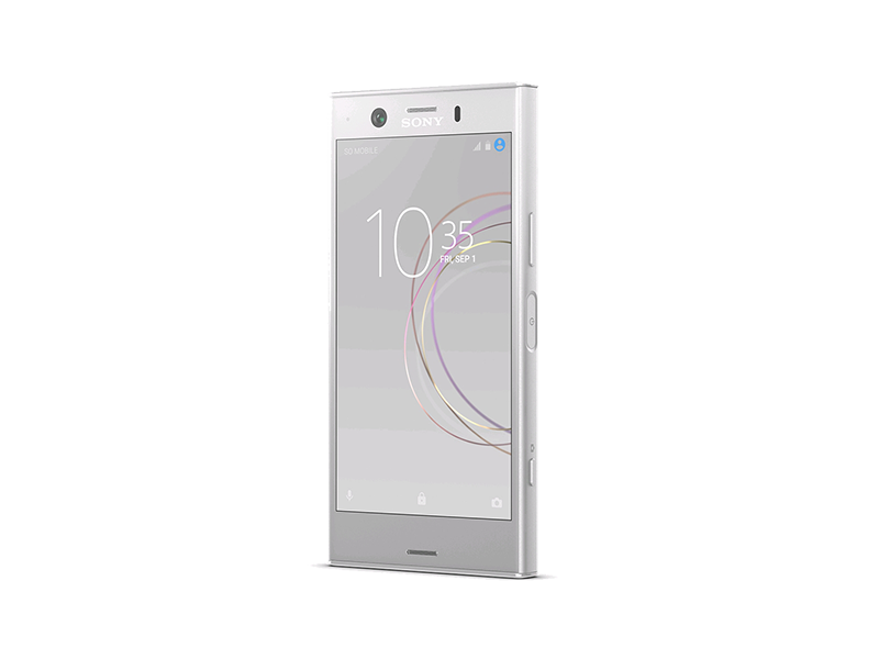 sony xperia xz1 compact white silver. Black Bedroom Furniture Sets. Home Design Ideas